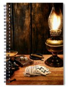 The Cowboy Nightstand Spiral Notebook