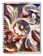 The Crayoned Leaves  Spiral Notebook