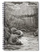 The Creation Of Fish And Birds Spiral Notebook