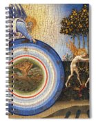 The Creation Of The World And The Expulsion From Paradise Spiral Notebook
