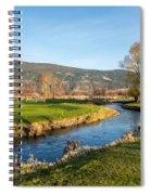 The Creek Runs Through Spiral Notebook