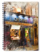 The Creperie Spiral Notebook