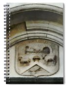 The Crest Of The Christchurch City Council Spiral Notebook