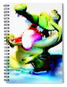 The Croco Spiral Notebook