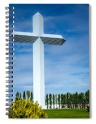 The Cross At Effingham Illinois Spiral Notebook