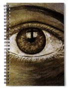 The Cross Eye Spiral Notebook