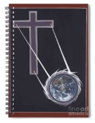 The Cross Shines On The Last Days Spiral Notebook