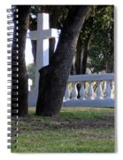 The Cross Through The Trees Spiral Notebook