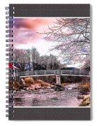 The Crossing II Brenton Woods Nh Spiral Notebook