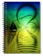 The Crossing Spiral Notebook