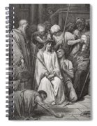 The Crown Of Thorns Spiral Notebook