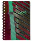 The Crucifix Spiral Notebook