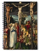 The Crucifixion Of Christ Spiral Notebook