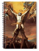 The Crucifixion Of St Andrew Spiral Notebook