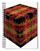 The Cube 8 Spiral Notebook