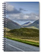The Cuillin Mountains Of Skye 2 Spiral Notebook