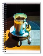 The Cup Of Black Coffee 1 Spiral Notebook