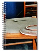 The Cup Saucer And Spoon Spiral Notebook