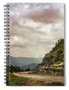 The Curve Blue Ridge Parkway Spiral Notebook