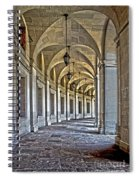 The Curve In Color Spiral Notebook
