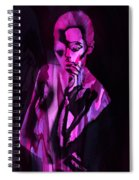 The Cyber Woman Spiral Notebook