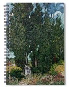 The Cypresses Spiral Notebook