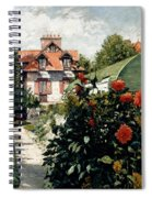 The Dahlias Garden At Petit Gennevilliers Spiral Notebook