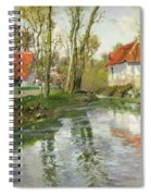 The Dairy At Quimperle Spiral Notebook