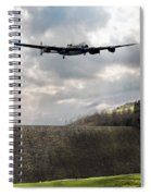 The Dambusters Over The Derwent Spiral Notebook