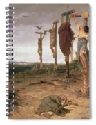 The Damned Field Execution Place In The Roman Empire Spiral Notebook
