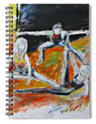 The Dance Audition Spiral Notebook
