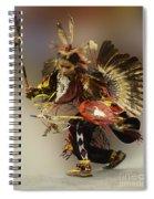 Pow Wow The Dance Spiral Notebook