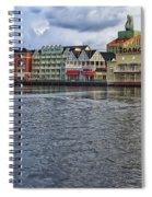 The Dance Hall At The Boardwalk Walt Disney World Spiral Notebook