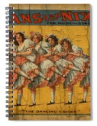 The Dancing Chicks Spiral Notebook