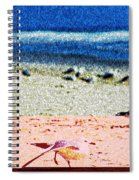 The Dancing Seagull Spiral Notebook