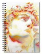 The David By Michelangelo. Tribute Spiral Notebook