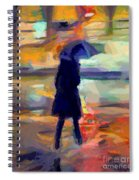 The Day For An Umbrella Spiral Notebook