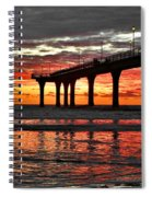 The Day Has Arrived  Spiral Notebook