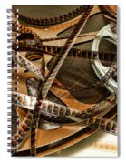 The Days Of Film Spiral Notebook