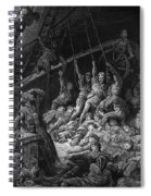 The Dead Sailors Rise Up And Start To Work The Ropes Of The Ship So That It Begins To Move Spiral Notebook