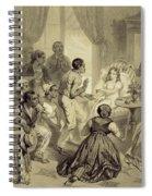 The Death Of Evangeline, Plate 6 Spiral Notebook
