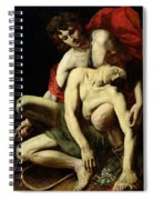 The Death Of Hyacinthus  Spiral Notebook