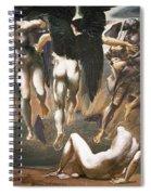 The Death Of Medusa II, 1882 Spiral Notebook