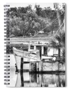 The Debbie-john Shrimp Boat Spiral Notebook