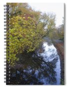 The Delaware Canal In Morrisville Pa Spiral Notebook