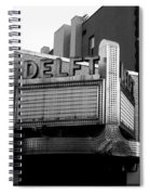 The Delft Marquette Mi Spiral Notebook