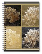 The Delicate Remains Of Winter Spiral Notebook