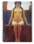 The Delphic Oracle Detail Spiral Notebook