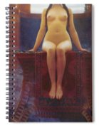 The Delphic Oracle Spiral Notebook