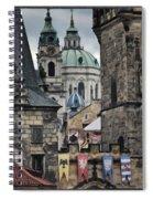 The Depths Of Prague Spiral Notebook